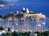 Arrival in Bodrum