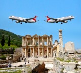 Flight from Istanbul to Ephesus & Ephesus Tour