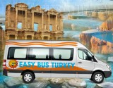Pamukkale Tour from Kusadasi or Selcuk & Overnight bus to Cappadocia